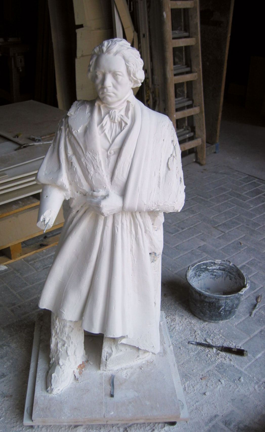 Ludwig van Beethoven, Alabasterskulptur