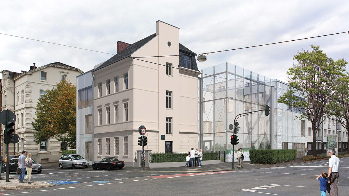 Visualisierung August Macke Haus Bonn